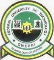 FUTO CCE Part-Time Admission Announced - 2017/2018