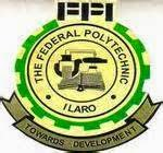 Fed Poly Ilaro Updated ND Full-time Admission List Released - 2017/2018