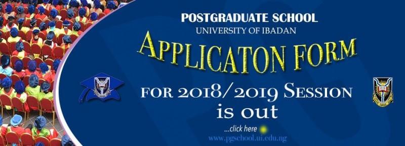 UI Postgraduate Admission Announced for 2018/2019 Academic Session