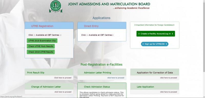 JAMB Admission Letter: How to Print Official JAMB Admission Letter