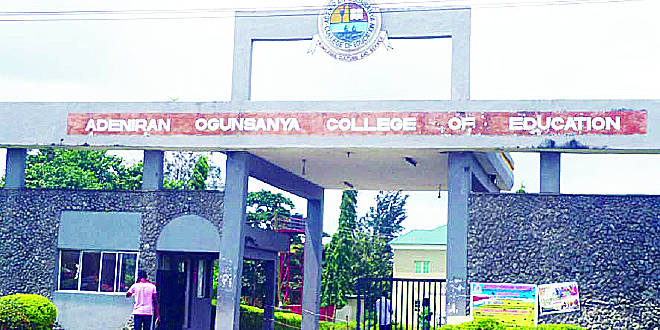 List of Courses Offered at Adeniran Ogunsanya College Of Education (AOCOED)