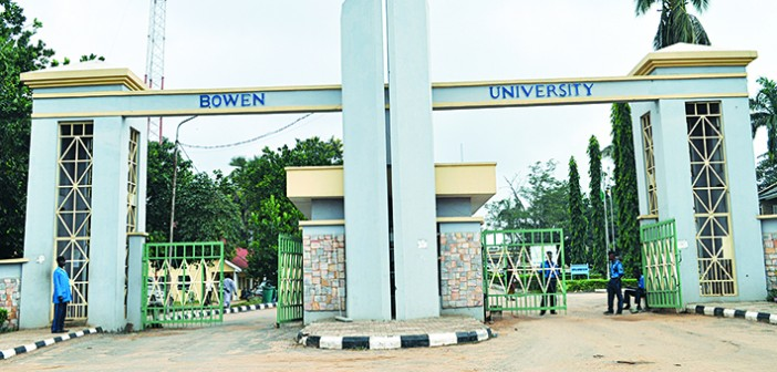 List of Courses Offered at Bowen University