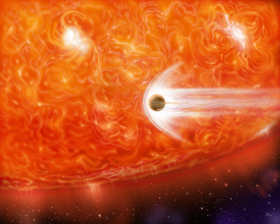 red-giant-the-sun