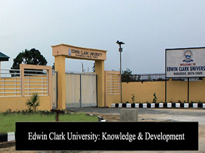 List of Courses Offered at Edwin Clark University (ECU)