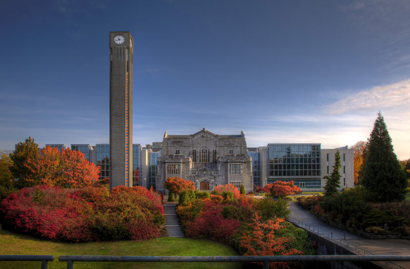 University of British Columbia Doctoral Scholarships to Study in Canada