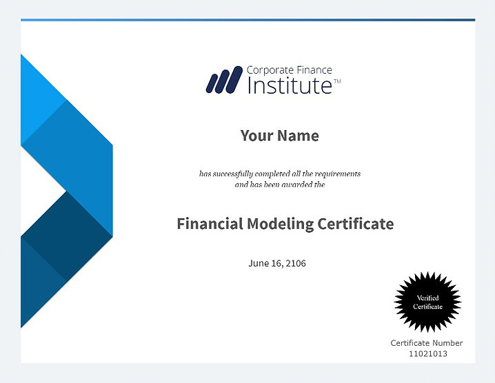 Advance Your Career With Courses From The Corporate Finance Institute