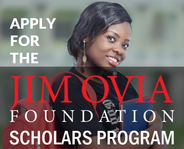 Jim Ovia Foundation Scholarships