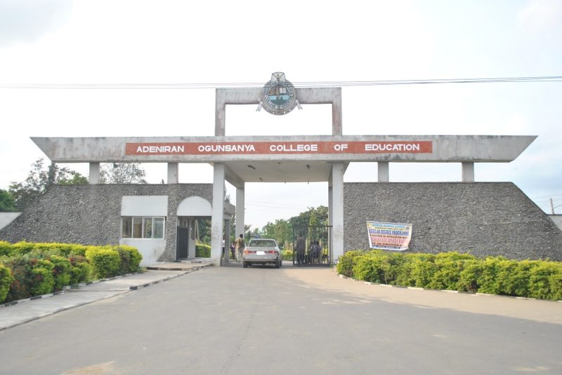 AOCOED Admission Screening (NCE) For 2016/2017 Academic Session