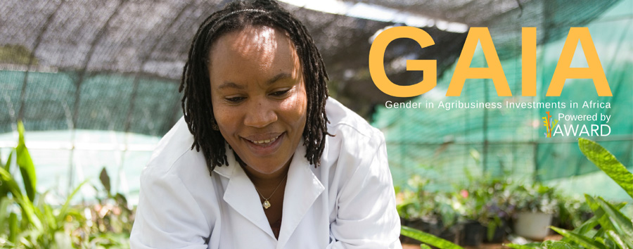 2016 AWARD Gender in Agribusiness Investments in Africa (GAIA) Agtech Innovation Challenge