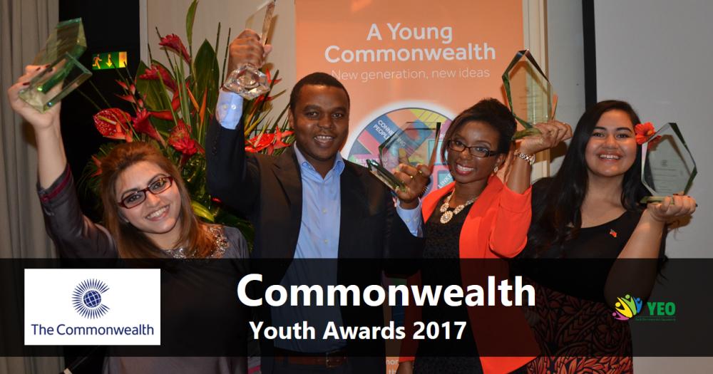 2017 Commonwealth Youth Award in United Kingdom