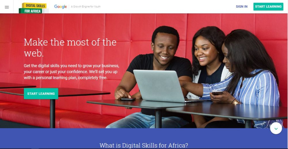 Google Launches Digital Skills for Africa Online Portal - Free Tutorial Portal