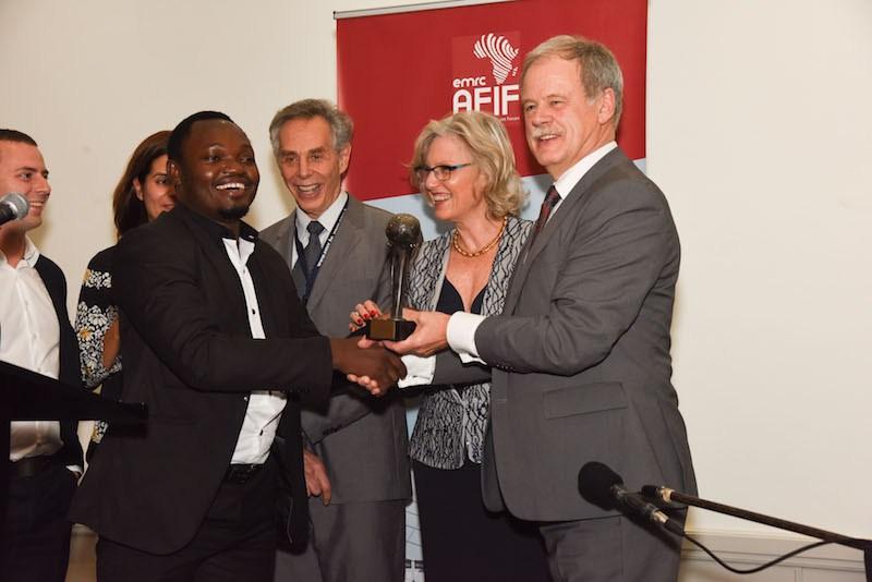 2017 Africa Finance & Investment Forum (AFIF) Entrepreneurship Award-USD$10,000
