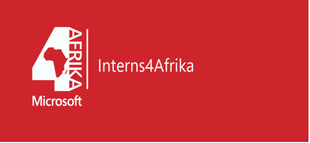 2017 microsoft interns 4afrika paid internship programme for young africans