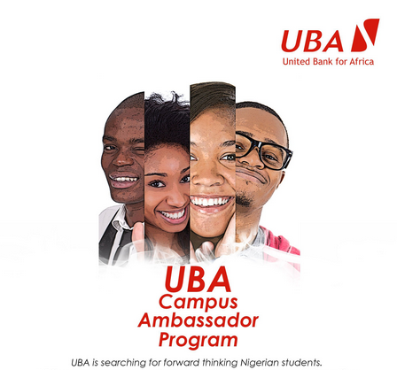 UBA Group Campus Ambassador Programme for Nigerian Students, 2019