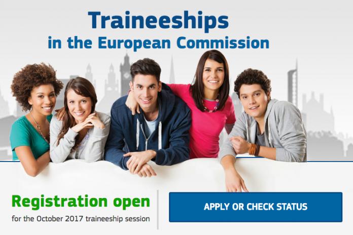 2017 European Commission Paid Traineeship for University Graduates