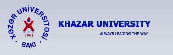 2017 Khazar University International Scholarship Program in Azerbaijan