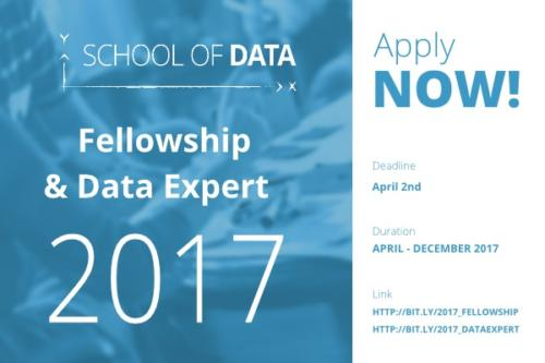 School of Data Fellowship for Data Enthusiasts - See Details Here