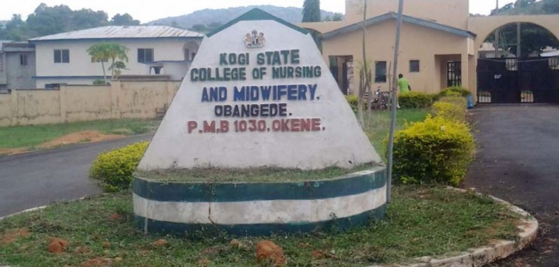 Kogi State College Of Nursing and Midwifery Admission Form, 2018/2019