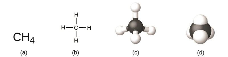methane-molecule