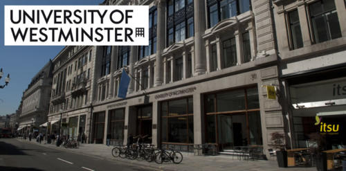 University of Westminster Full International Undergraduate Scholarship, 2018/2019