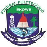 Fed Poly Ekowe 2017/2018 ND And HND Admission Announced