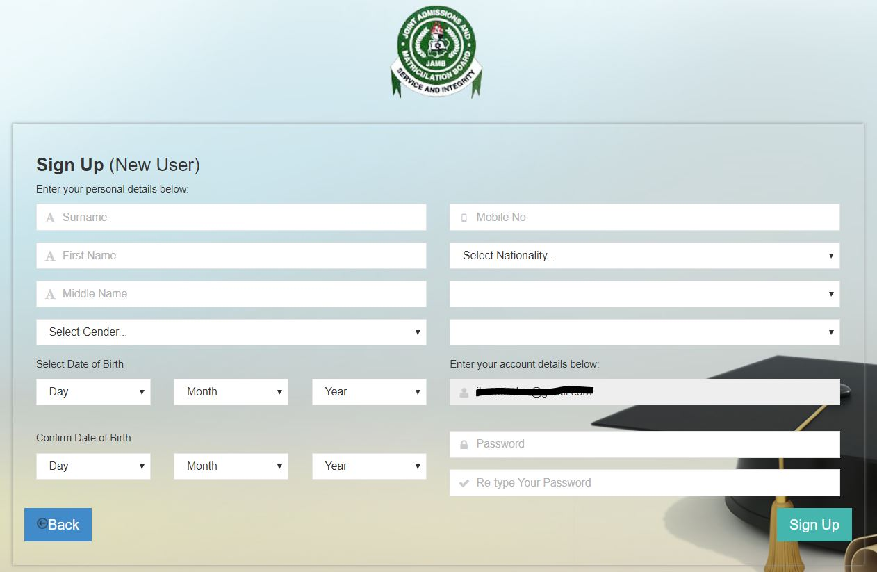 JAMB Profile: How to Create JAMB Profile for 2019 UTME