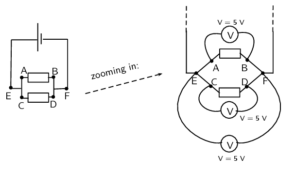 parallel resistors