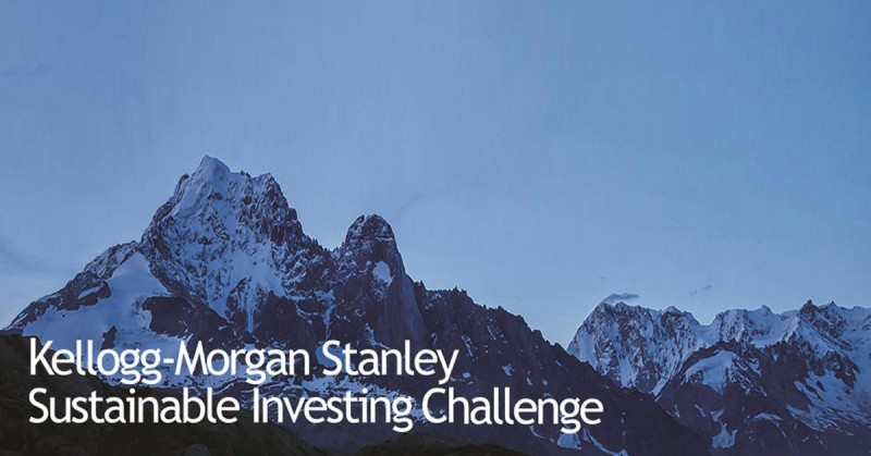 Kellogg-Morgan Stanley Sustainable Investing Challenge for Graduate Students