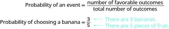 Using the Basic Definition of Probability