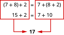 Use the Commutative and Associative Properties