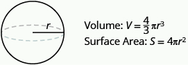 Finding the Volume and Surface Area of Spheres