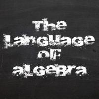 language-of-algebra