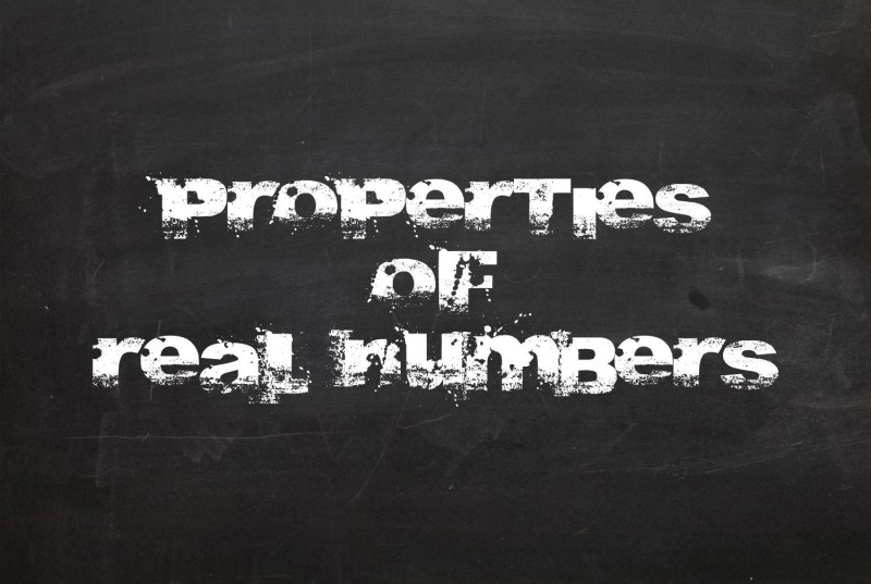 properties-of-real-numbers