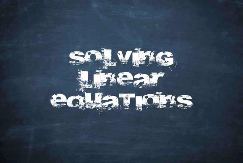 solving-linear-equations
