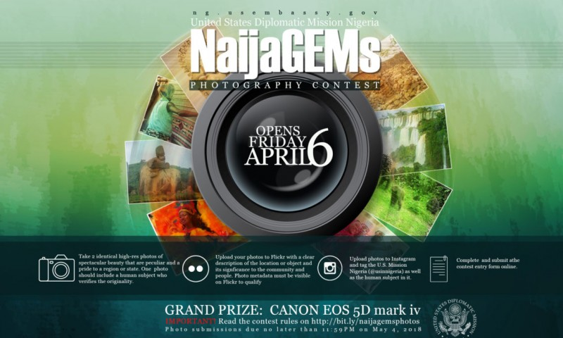U.S. Mission Nigeria NaijaGems Photography Contest 2018