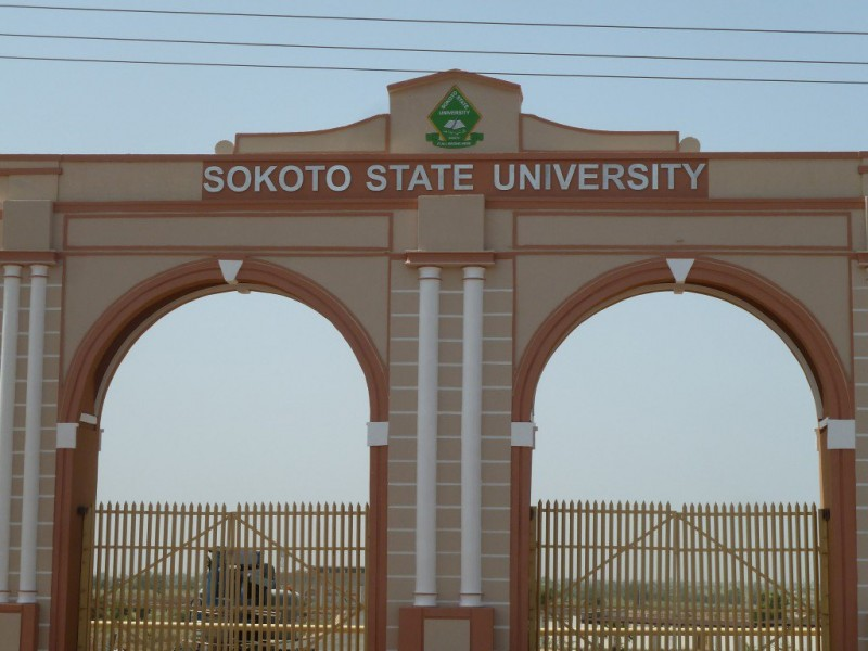 Main Entrance, Sokoto State University. photo: Nigerian Scholars