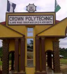 List of Courses Offered at Crown Polytechnic
