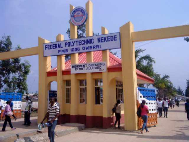 Federal Poly Nekede Part-Time ND and HND Admission Form, 2018/2019