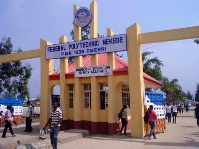 Fed Poly Nekede Post UTME Admission Form for 2021/2022 Session