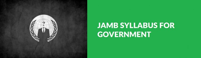 JAMB Syllabus for Government