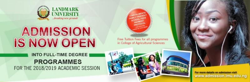 landmark-university-admission