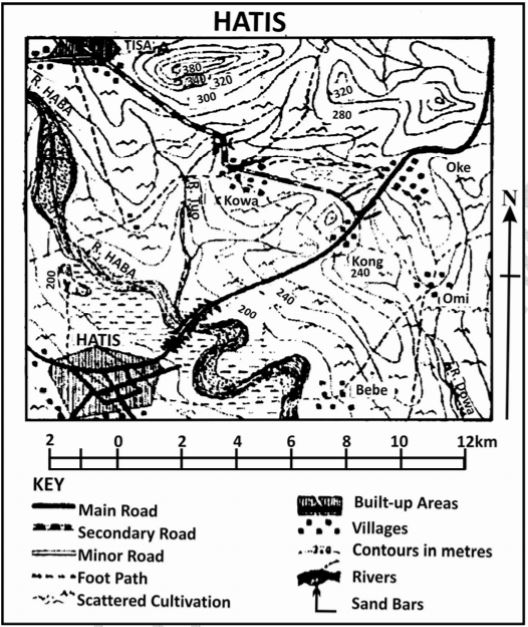 hatis map