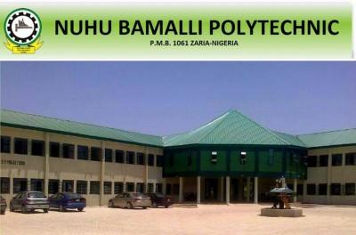 Nuhu Bamalli Polytechnic ND Full-Time and HND Admission, 2018/2019