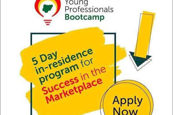 Young Professionals Bootcamp (YPB) for Young Nigerians With Leadership Potential