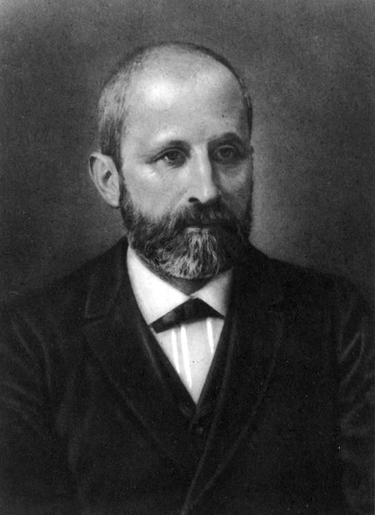 Photo of Friedrich Miescher.