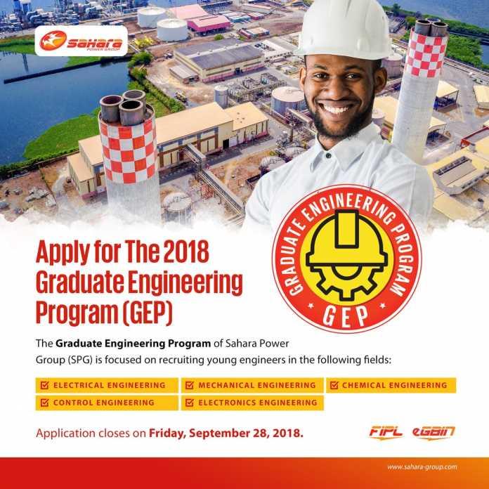 Sahara Group Talent and Entrepreneurship Programme (STEP), 2019