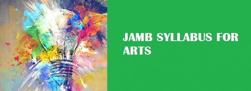 JAMB Syllabus for Arts