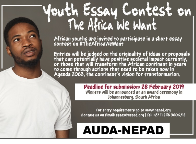 AUDA/NEPAD Essay Contest 2019 for African Youths | How to Apply