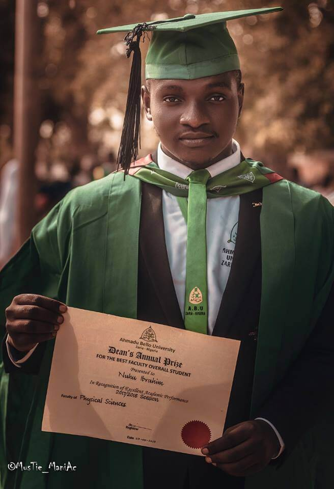 ABU Best Graduating Student with Highest Recorded CGPA Ever Tells His Secret