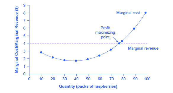 The market-level graph shows that the equilibrium price (\$4.00) is determined through the interaction between market demand and market supply.